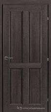 Дверь Краснодеревщик 63 44 с фурнитурой, Дуб шварц CPL