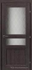 Дверь Краснодеревщик 63 34 с фурнитурой, Дуб шварц CPL